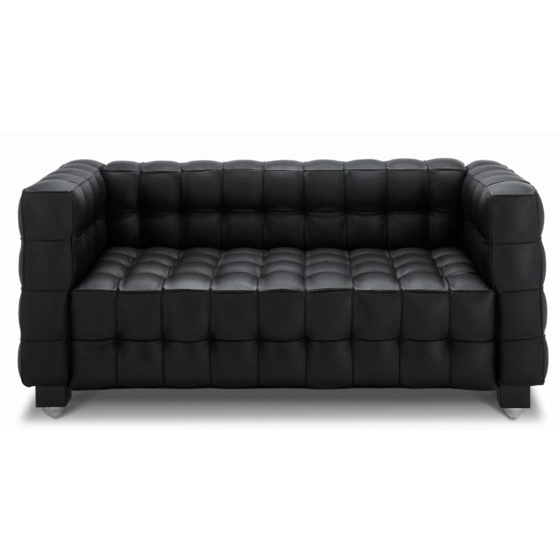 josef hoffmann kubus sofa 2 sitzer bauhaus sofa. Black Bedroom Furniture Sets. Home Design Ideas