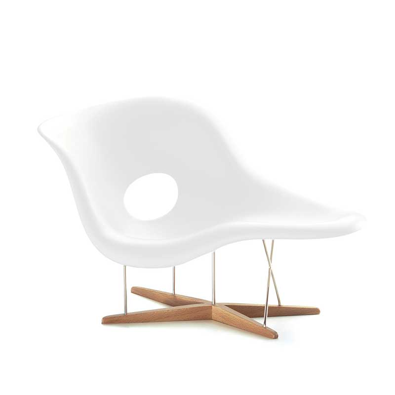 Charles eames chaise longue bauhaus chaiselongue for Chaise a bascule style eames