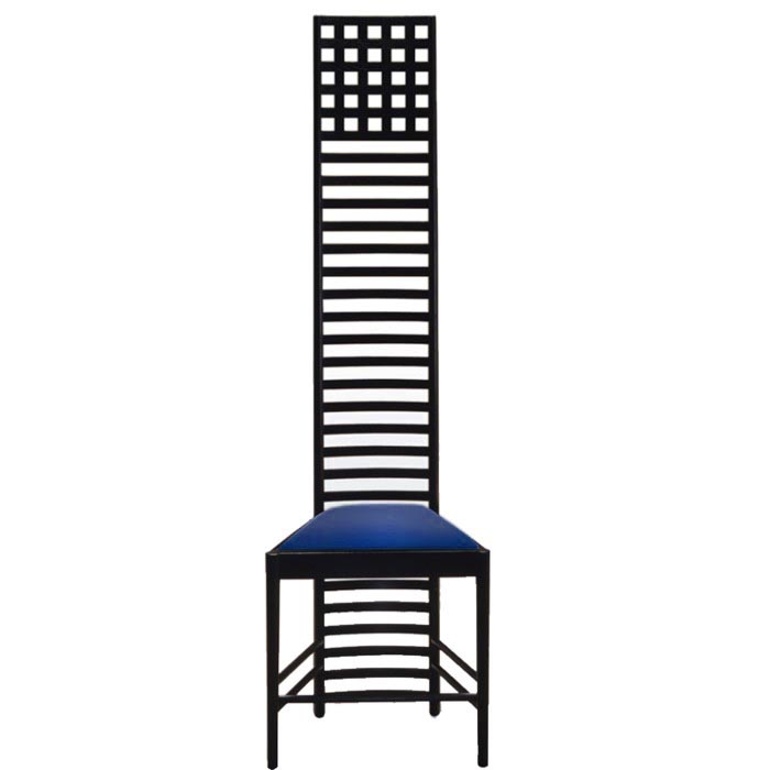 Charles R. Mackintosh Hill House one chair  sc 1 th 225 & Macintosh Hill House one chair » Bauhaus chair design