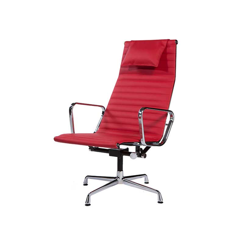 Charles eames aluminium group lounge chair ea 124 for Eames alu chair nachbau