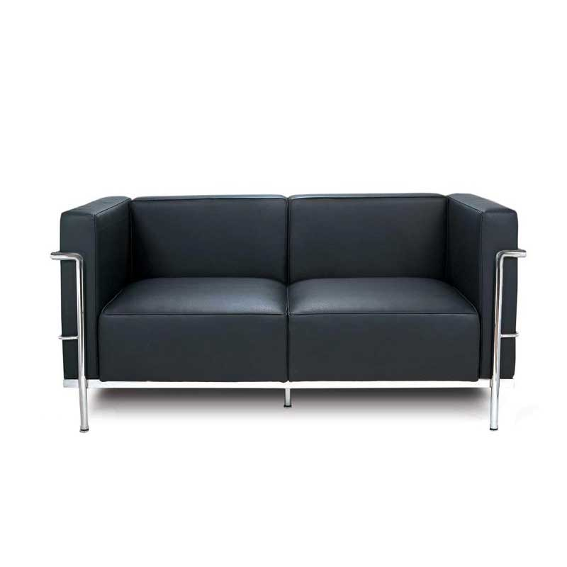 le corbusier lc3 sofa bauhaus designer mbel klassiker. Black Bedroom Furniture Sets. Home Design Ideas