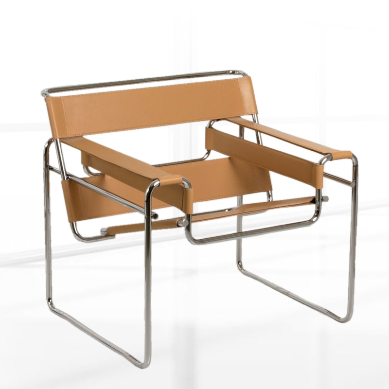 Marcel breuer chair bauhaus seating arm chairs vintage for Chaise wassily