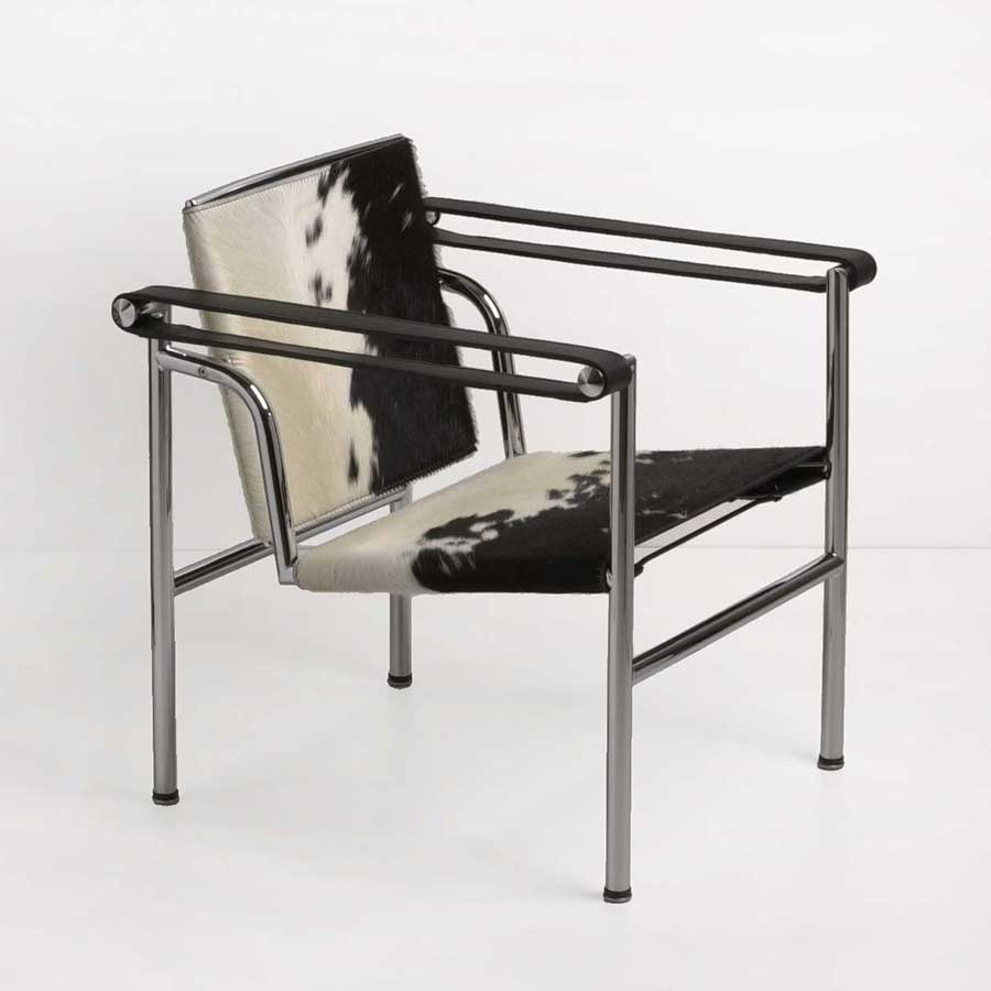 le corbusier sessel lc1 bauhaus designer mbel klassiker. Black Bedroom Furniture Sets. Home Design Ideas