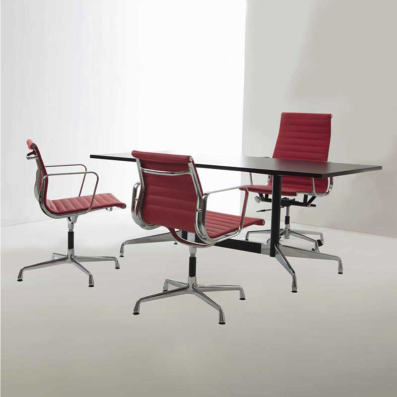 Charles eames alu chair aluminium group chair ea 119 for Alu chair nachbau