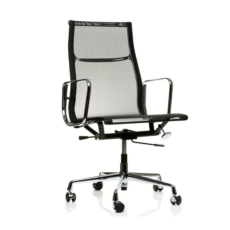 Eames ea 119 the eames aluminum group vitra ea is a high for Vitra chair nachbau