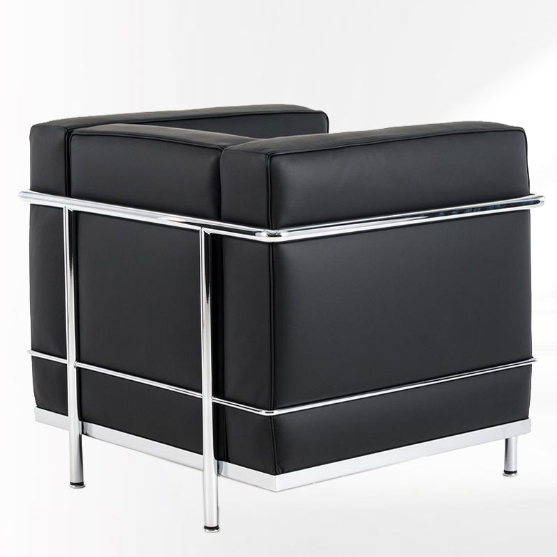 le corbusier sessel lc2 m belklassiker bauhaus classic. Black Bedroom Furniture Sets. Home Design Ideas