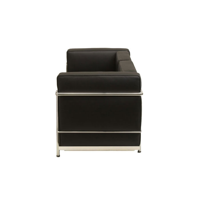 le corbusier lc2 sofa bauhaus designklassiker mbel. Black Bedroom Furniture Sets. Home Design Ideas