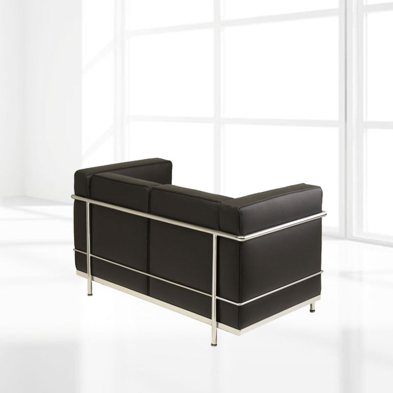 Le Corbusier two-seater sofa LC2 »« Design Classic Sofa