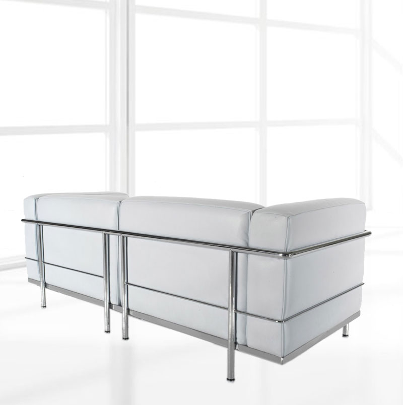 le corbusier lc3 sofa bauhaus designer m bel klassiker. Black Bedroom Furniture Sets. Home Design Ideas