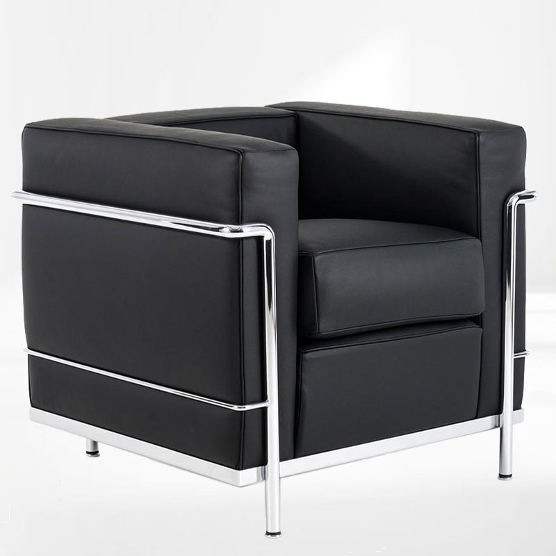 le corbusier sessel lc2 mbelklassiker bauhaus classic. Black Bedroom Furniture Sets. Home Design Ideas
