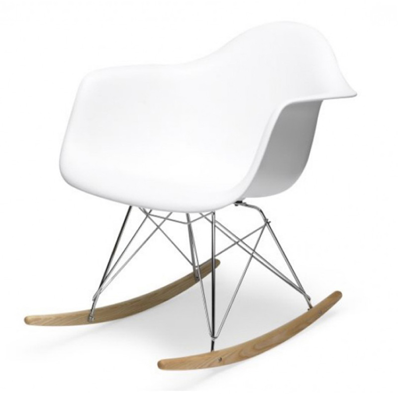 Designer Stuhl Eames charles eames rar plastic rocking chair bauhaus chair