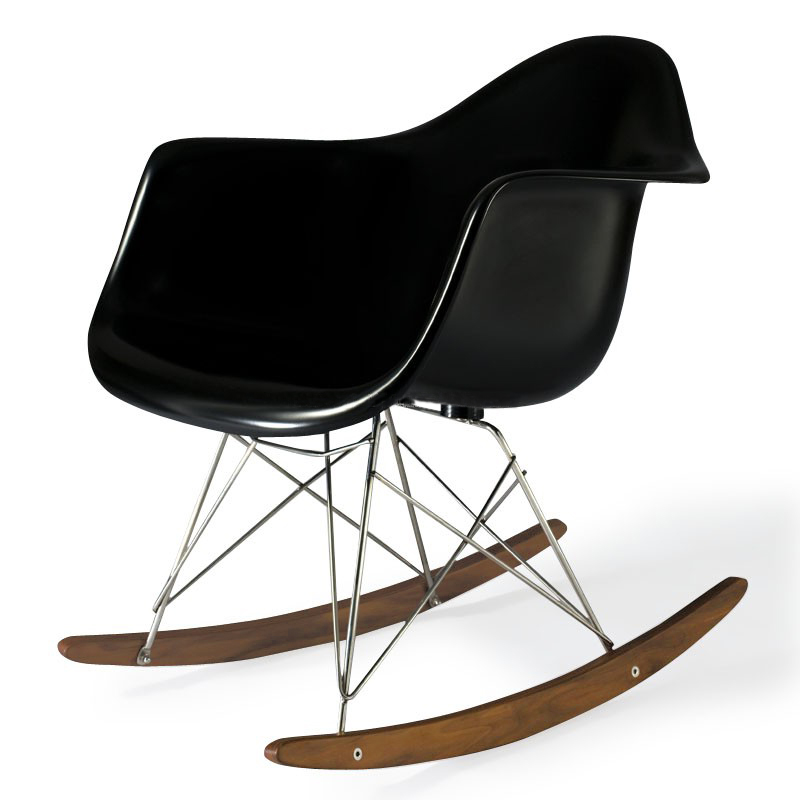 charles eames rar plastic rocking chair designer stuhl aus. Black Bedroom Furniture Sets. Home Design Ideas
