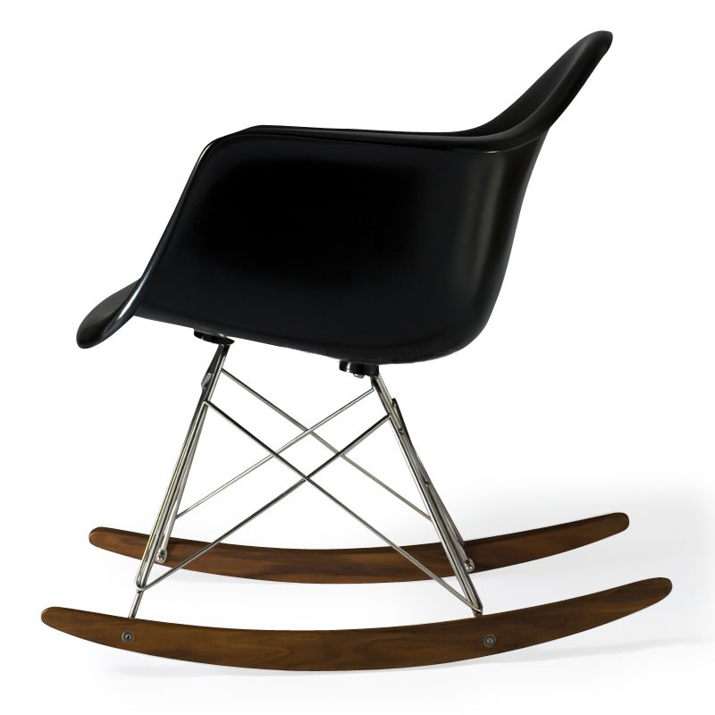 charles eames rar plastic rocking chair designer stuhl aus italien. Black Bedroom Furniture Sets. Home Design Ideas