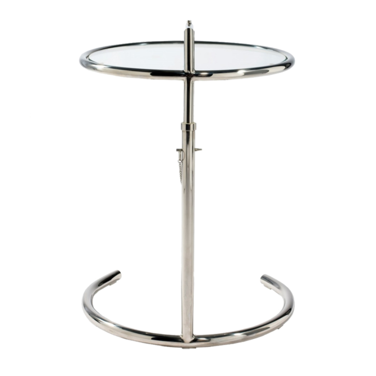 Elegant Eileen Gray Tisch » Adjustable Table E 1027 » Bauhaus Möbel ...