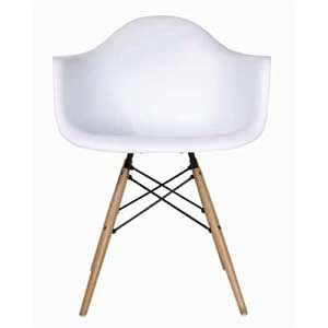 Charles eames daw plastic chair 2590 esszimmerst hle for Eames dsw nachbau